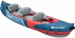 Sevylor Europe Sevylor Tahiti Plus Kayak - Opblaasbaar - 2+1-Persoons - Blauw/rood
