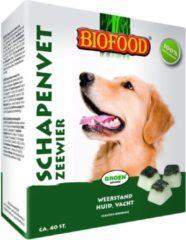 Biofood Schapenvet 40 stuks - Hondensnacks - Zeewier&Vet - Hondenvoer