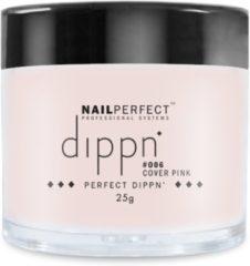 Roze Dip poeder voor nagels - Dippn™ Nailperfect - 006 Cover Pink - 25gr