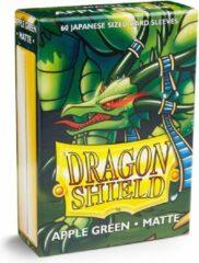 Trading Card Game TCG Sleeves - Dragon Shield - Apple groen Matte Japanese Size