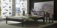 Sleepking Bedframe / Bedkader - Piruma - 90x200 - Zwart metaal - Zonder lattenbodem