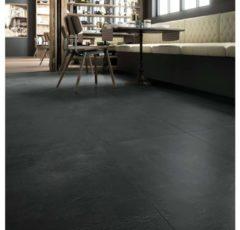 Vloertegel Imola Creative Concrete 60x60cm Zwart Gerectificeerd