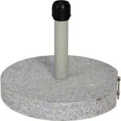 Lesliliving Outdoor Living Parasolvoet Graniet grijs 30kg
