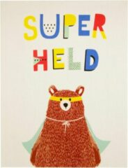 Bruine Associated weavers Tapijt Superhero Bear