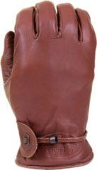 Longhorn leren handschoenen bruin