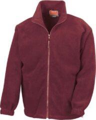Bordeauxrode RESULT Fleece vest R036X BordeauxXL