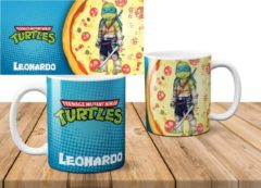 Blauwe AAA+ Mok The Ninja Turtles Leonardo