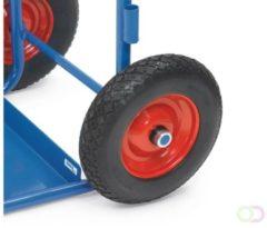 Fetra PU-wielen, lekvrij, 400 x 100 mm blokprofiel - 1 paar=2 stuks