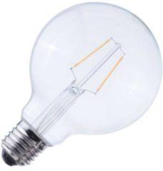 Baileys Globelamp LED filament helder 2W (vervangt 25W) grote fitting E27 95mm