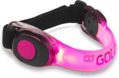 Roze Gato Reflecterende armband - Unisex