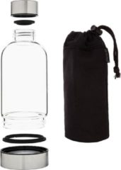 Roestvrijstalen Bo-Bottles Bo-Bottle - 500 ULTD (0,5L) met zwarte sleeve