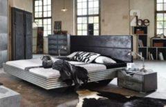 Rauch-SELECT Bett 180 x 200 cm silber/ schwarz RAUCH SELECT Workbase