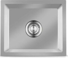 Roestvrijstalen LOMAZOO Spoelbak Keuken Polaris 34/40 – Spoelbakken Keuken – Wasbak Keuken - RVS