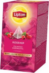 Lipton Tea Company Lipton thee, Rozenbottel, Exclusive Selection, doos van 25 zakjes