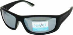 Grijze Nihao Superior Sportbril 1.1mm Polarized. TR-90 Ultra-Light frame Anti-Reflect coating.