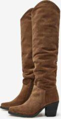 Bruine VIA VAI 5415064-00 Anika 008 Goias Farro Boots lange-laarzen