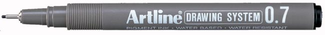 Afbeelding van Artline Fineliner Drawing System 0,7 mm