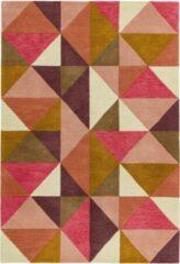 Eazy Living Easy Living - Reef-Kite-Pink-multi Vloerkleed - 200x290 cm - Rechthoekig - Laagpolig Tapijt - Retro - Meerkleurig