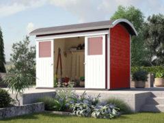 Rode WEKA | Tuinhuis 228 | 295 x 209 cm | Zweeds rood