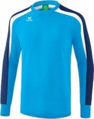 Marineblauwe Erima Liga 2.0 Sweatshirt Heren - Lichtblauw / Navy - maat 164