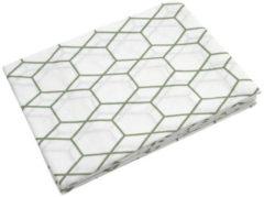 Groene Briljant Baby hydrofiel luiers - Grid 70 x 70 cm - forrest - 3 stuks