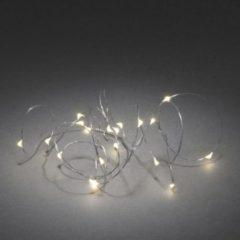 Konstsmide 1460-190 Geschikt voor gebruik binnen 20lampen Geschikt voor buitengebruik Micro LED Zilver decoratieve verlichting