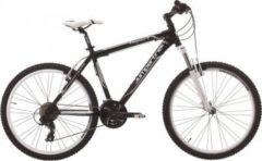 Cicli Cinzia 26 Zoll Cinzia Impact Mountainbike Aluminium 21... schwarz, 47cm