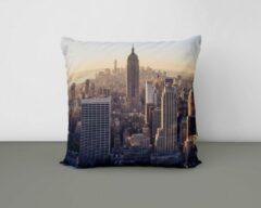 ByCristianne Sierkussen - Skyline New York - Woon accessoire - 40 x 40 cm