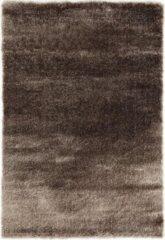 Impression Rugs Pearl Effen Vloerkleed Taupe Hoogpolig - 80x150 CM