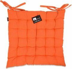 Oranje In The Mood Stoelkussen Tivoli 45x45cm Mandarijn (4 voor de prijs van 3)