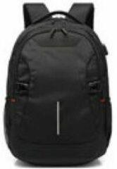 Ewent Global Laptoprugzak voor 15,6 inch Laptop met USB-laadpoort Zwart