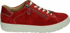 Hartjes 140162 - Volwassenen Lage sneakers - Kleur: Rood - Maat: 37.5