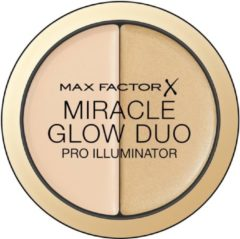 Creme witte Max Factor Miracle Glow Duo Highlighter -10 Light