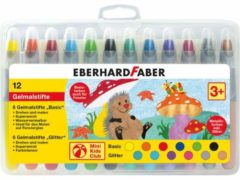 Eberhard faber gelkleurpotloden eberhard faber 12 kleuren in plastic etui