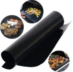 Zwarte Krumble Teflon BBQ Grill Mat - Oven Bakmat - Ovenbeschermer - BBQ beschermer - Bakmatten - BBQ rooster - Overmat
