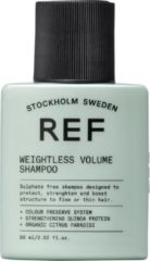 REF Stockholm REF Weightless Volume Vrouwen Voor consument Shampoo 60 ml