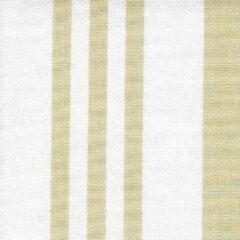 Acrisol 7 Calles Beige 31 wit beige gestreept stof per meter buitenstoffen, tuinkussens, palletkussens