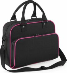 Bagbase Junior dance bag (Danstas) , kleur Black / Fuchsia