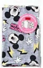 Grijze Disney Mickey Mouse Rekbare boekenkaft 2 stuks