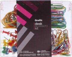 Grafix Mini-bureaubox 148-delig Multicolor