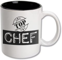 Witte Paper dreams Black&White Mugs - Top Chef-White