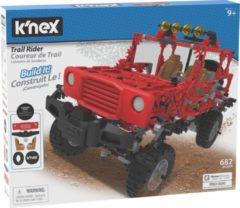 K'NEX bouwset Jeep jongens 40,6 x 30,5 cm rood 682 stukjes