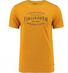 Fjällräven - Fjällräven Est. 1960 T-Shirt - T-shirt maat S, bruin