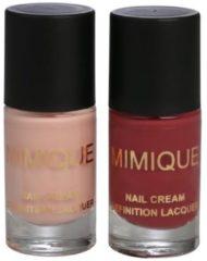 MIMIQUE Nail Definition Lacquer 2 x 10ml (foliert)