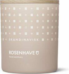 Roze SKANDINAVISK CANDLE 200GR - 50U ROSENHAVE / ROSE GARDEN