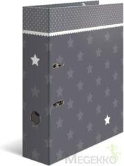 HERMA 7189 Motief ordner A4 sterren - grijs met rand