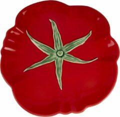 Rode Bord Tomaat - Set van twee - Bordallo Pinheiro