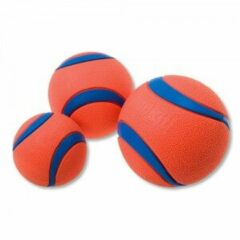 Blauwe Chuckit Hondenspeelgoed Ultra Ball (set per 2)