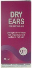 Get Plugged Dry Ears Oordruppels - 30ml