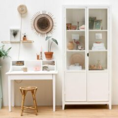 Timzowood Living Houten Apothekers kast wit